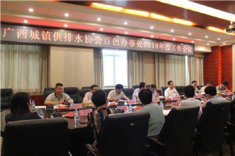 广西城镇供排水协会安徽快三基本走势图办事处2018年度工作会议在安徽快三基本走势图召开